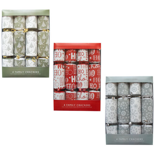 Christmas Crackers 4 Pack