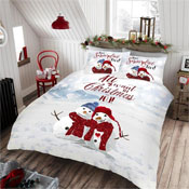 Snow In Love Christmas Duvet Set
