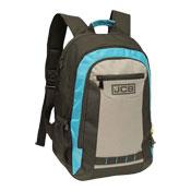 JCB Heavy Duty Padded Strap Backpack Blue