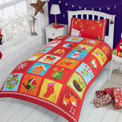Childrens Christmas Bedding - Advent Panel