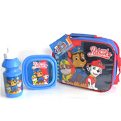 Paw Patrol Lunch Bag Set 3 Piece