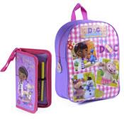 Disneys Doc Mcstuffins Backpack With Pencil Case Set