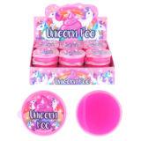 Glitter Unicorn Poo Slime Tubs
