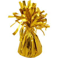 Balloon Foil Table Weight Gold