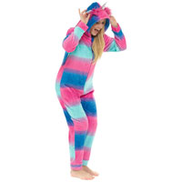 Ladies Unicorn Hooded Onesie