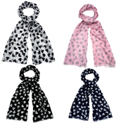 Assorted Heart Scarves