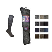 Aler Mens Long Wool Chunky socks 6-11