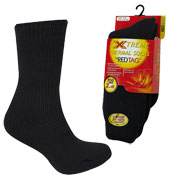 Ladies Extreme Thermal Socks Black 2.4Tog