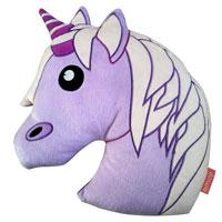 Official Emoji Unicorn Shaped Cushion