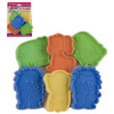 Animal Design Cookie Cutters 6 Pack