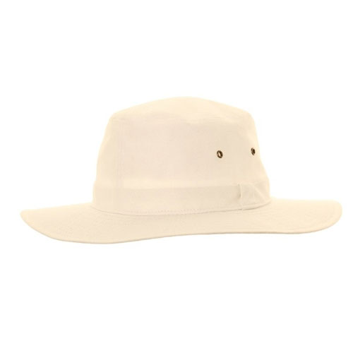Mens Cream Cricket Hat