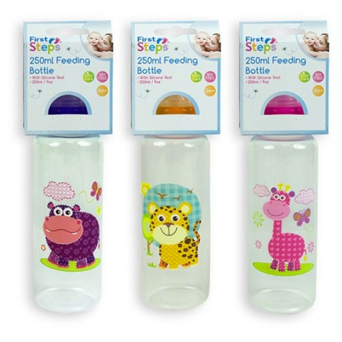 Animal Designs Baby Feeding Bottle 250ML