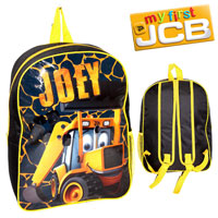 Official Joey JCB Arch Backpack With Mesh Black