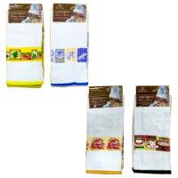 Luxury Velour Tea Towels Printed