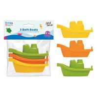 3 Bath Boat Toys