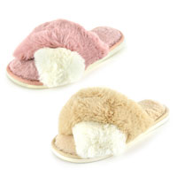 Ladies Crossover Slippers Mule
