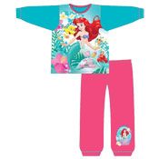 Girls Toddler Ariel Little Mermaid Snuggle Fit Pyjama