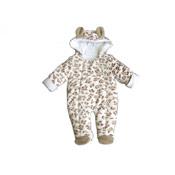 Baby Animal Print Snowsuit