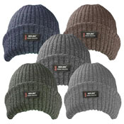 Mens Melange Thermal Hat with Lining