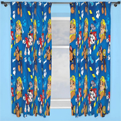 Paw Patrol 'Rescue' Pencil Pleat Ready Made Curtains