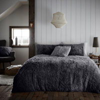 Hug And Snug Duvet Set Charcoal
