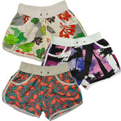 Girls Surf Printed Shorts