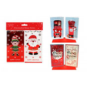 Christmas Hand Crafted Money Wallets Assorted