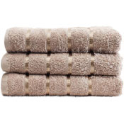 Luxury Egyptian Cotton Hand Towel Beige