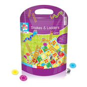 Magnetic Snakes & Ladders Travel Game