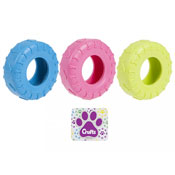 Crufts Tyre Chew Dog Toy