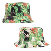 Adult Unisex Toucan Bird Print Bush Hat