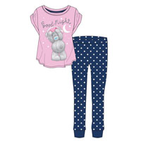 Ladies Official Tatty Teddy Good Night Pyjamas