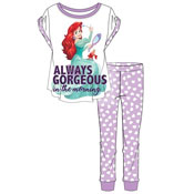Ladies The Little Mermaid Ariel Pyjama Set