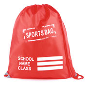 Sports Pump Bag Red