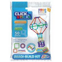 Clicksticks 50 Piece Model Set