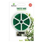 Twistee Garden Wire With Dispenser & Cutter