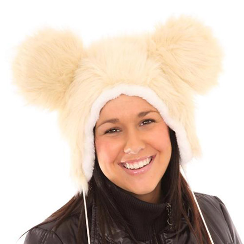 Adult Furry Novelty Hat with Ears. This product is temporarily out of stock ...