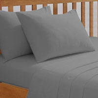 68 Pick Extra Deep Fitted Sheet Grey