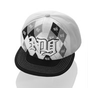 New York Snapback Baseball Caps White Check