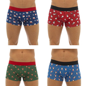 Mens Christmas Hipster Boxer Shorts