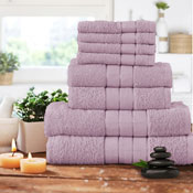 Luxurious 8 Piece Towel Bale Set Blush