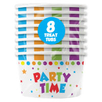 Party Treat Tubs 8 Pack