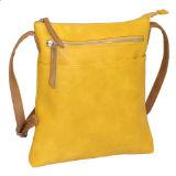 Ladies Large Crossbody Bag Mustard