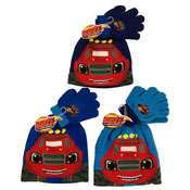 Childrens Blaze Beanie Hat and Gloves