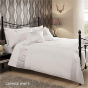 Caprice White Luxury Duvet Set