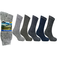 Mens Outdoor Pursuits Hike Socks