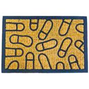 Coir Door Mat Rectangular Footprint