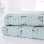 Spa Luxury Cotton Bath Towels Duck Egg