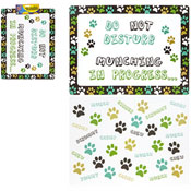 Paw Design Pet Feeding Placemats