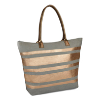 Paper Straw Metallic Stripped Bag
